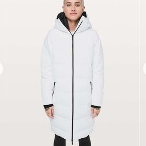 NWT Lululemon Slush Hour Parka  White